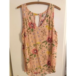 Old Navy Flowy Floral Sleeveless Blouse